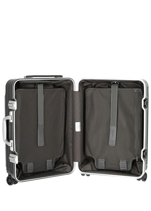 Hybrid Siyah 37 lt Kabin Boy Erkek Bavul