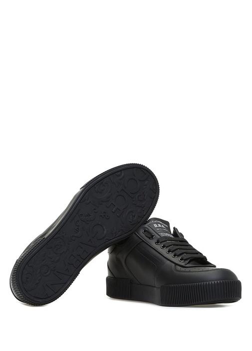 Miami Siyah Erkek Deri Sneaker