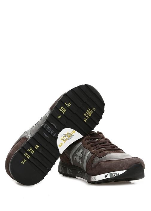 Eric Kahverengi Taban Detaylı Erkek YünSneaker