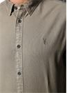 Hungtingdon Gri İngiliz Yaka Gömlek