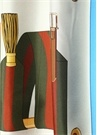 Yeşil Karışık Desenli 90x90 cm Kadın İpek Eşarp