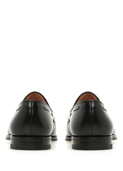 Koyu Kahverengi Püsküllü Erkek Deri Loafer