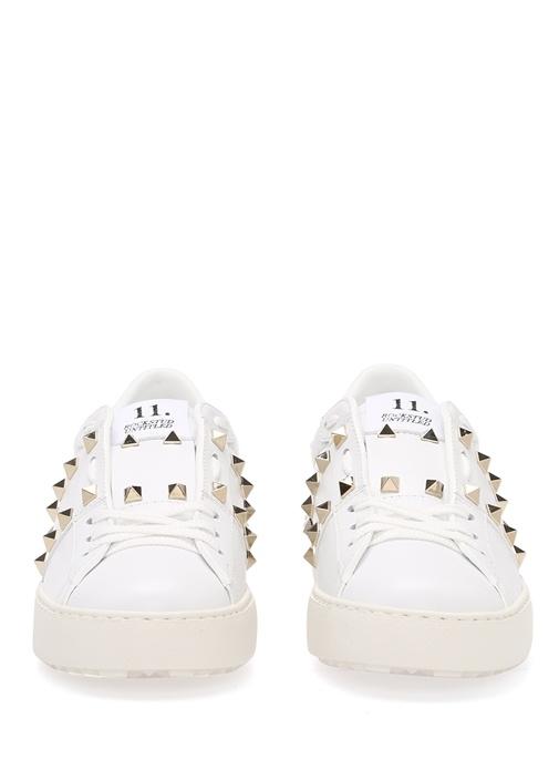 Valentino Garavani Beyaz Rockstud KadınSneaker
