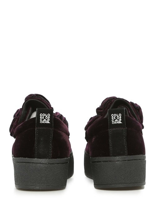 Desert Rose Slip On Bordo Kadın Sneaker