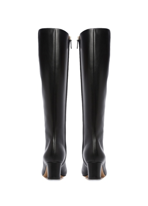 Valentino Garavani Siyah Kadın Deri Çizme