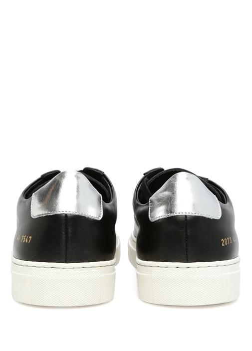 Achilles Low Top Siyah Beyaz Erkek Sneaker