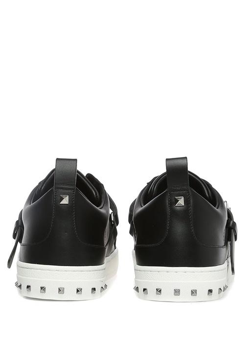 Valentino Garavani Siyah V Punk Erkek Sneaker