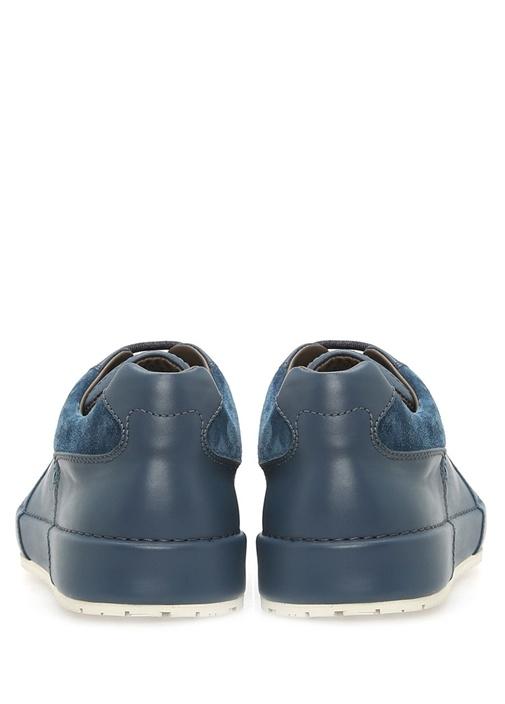 Denim Calf Thibo Deri Mavi Erkek Sneaker