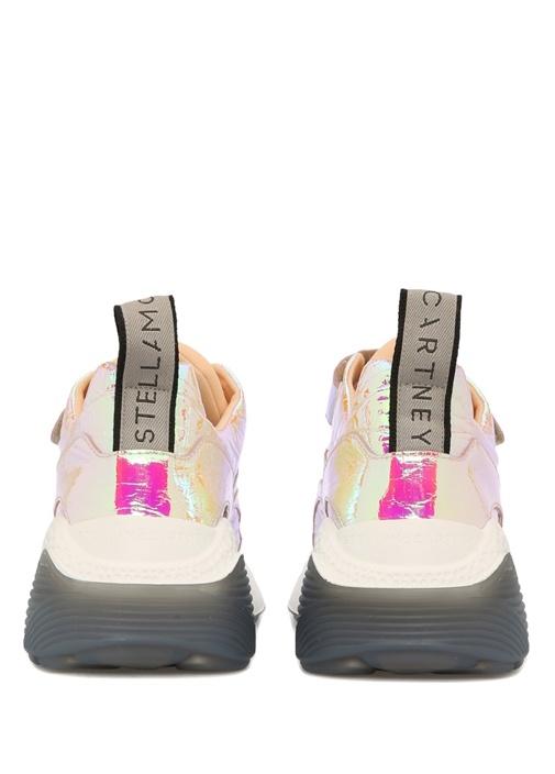 Eclypse Cırt Cırt Kapatmalı Gold Kadın Sneaker