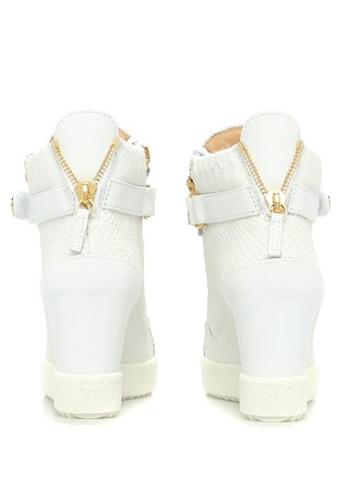 Coby Beyaz Deri Kadın Sneaker