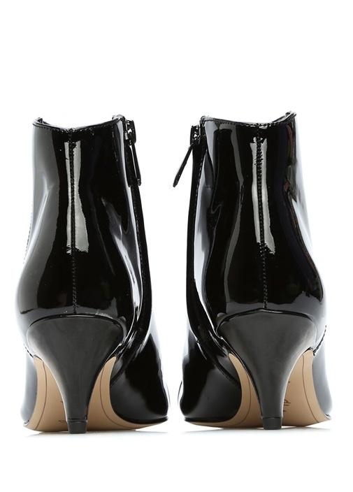 Siyah Kinzey Rugan Topuklu Kadın Bot