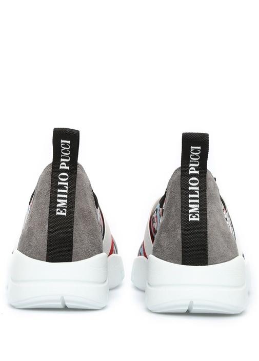 Taşlı Çiçekli Sneaker