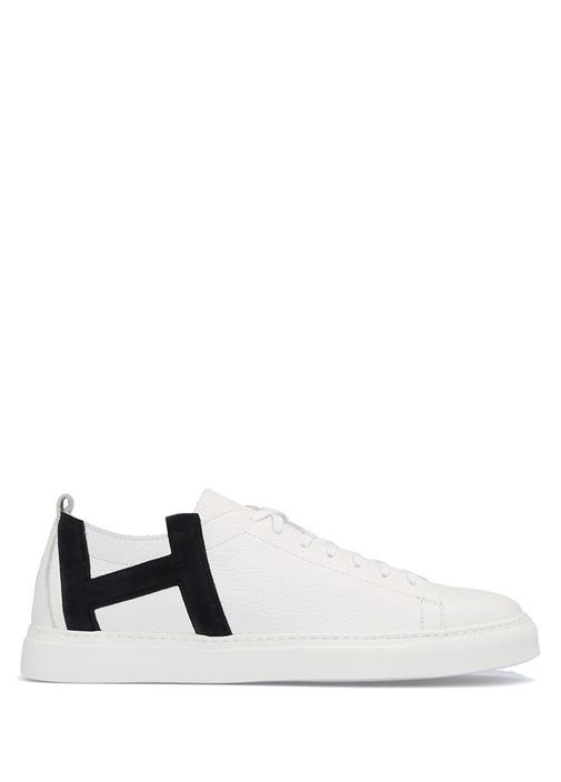 Henderson Lacivert-Beyaz ERKEK  Andy Lacivert Beyaz Deri Erkek Sneaker 369770 Beymen