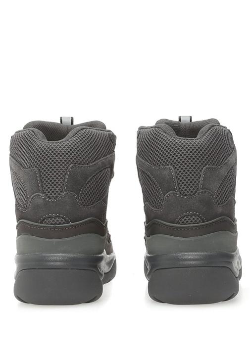 Yeşil Bağcıklı File Dokulu Erkek Sneaker
