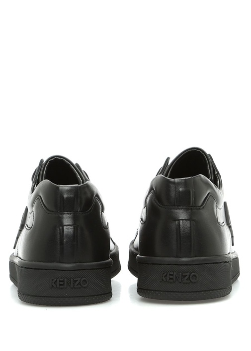 Tennix Siyah Deri Erkek Sneaker