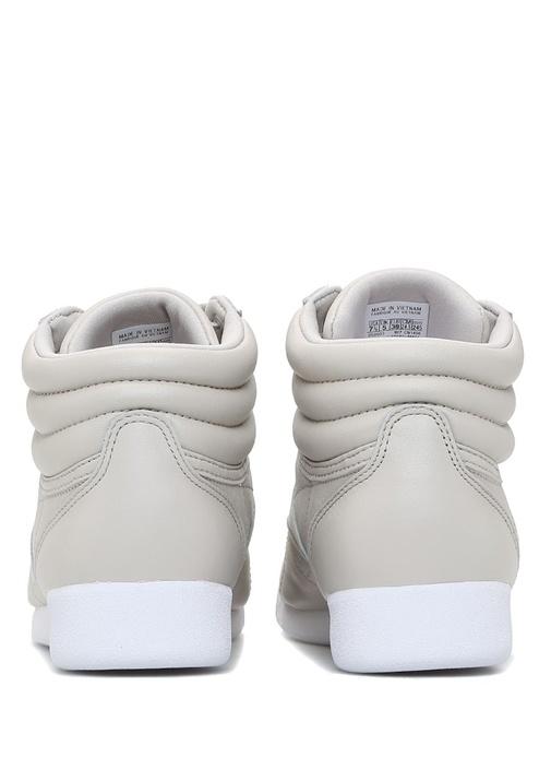 Freestyle Hi Muted Bej Kadın Sneaker