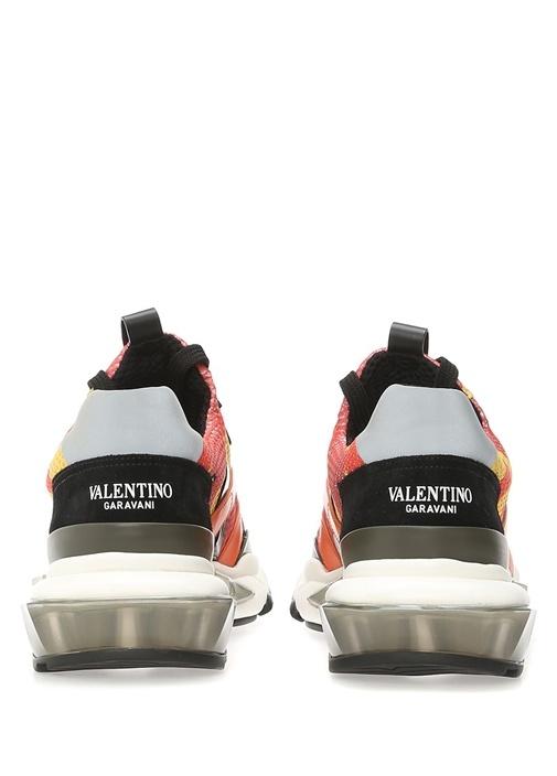 Valentino Garavani Kamuflajlı Erkek Sneaker