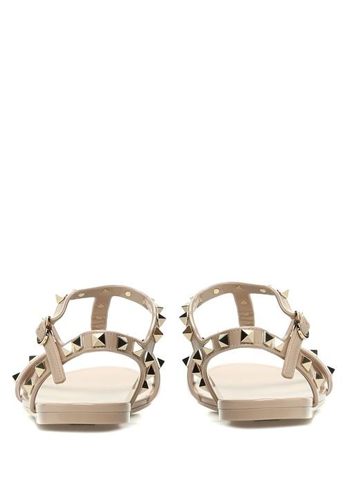 Rockstud Pudra Kadın Sandalet