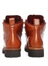 Kahverengi Renkli Bağcıklı Erkek Deri Bot