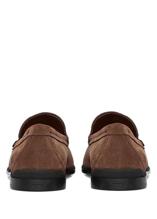 Kahverengi Erkek Süet Loafer