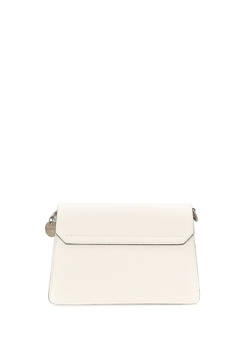 GV3 Small Beyaz Kadın Deri Çanta