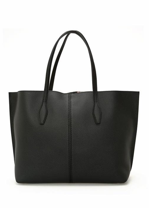 Joy Medium Siyah Kadın Deri Çanta