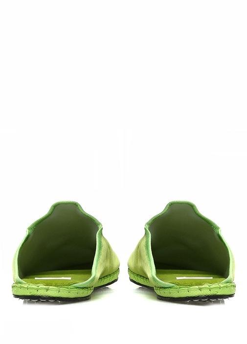 Yeşil Kadın Kadife Terlik