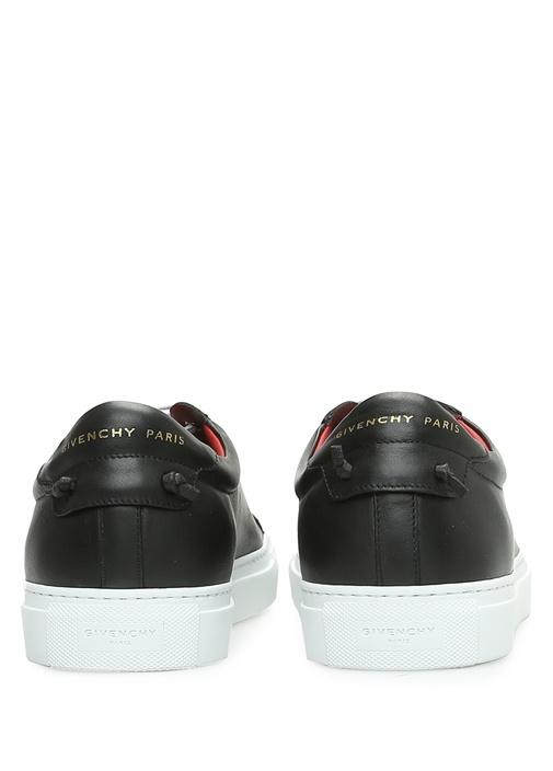 Urban Street Siyah Erkek Deri Sneaker