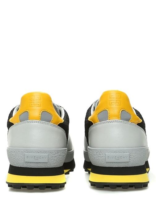 TR3 Runner Gri Sarı Erkek Deri Sneaker