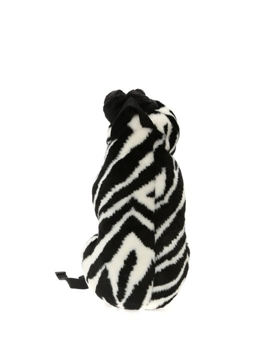 Siyah Beyaz Zebra Formlu Kız Çocuk SırtÇantası