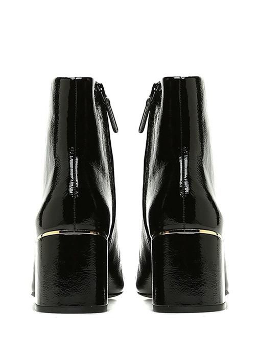 Juliana Siyah Topuklu Kadın Rugan Bot