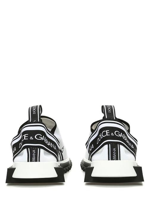 Sorrento Beyaz Dokulu Şerit Logolu Erkek Sneaker