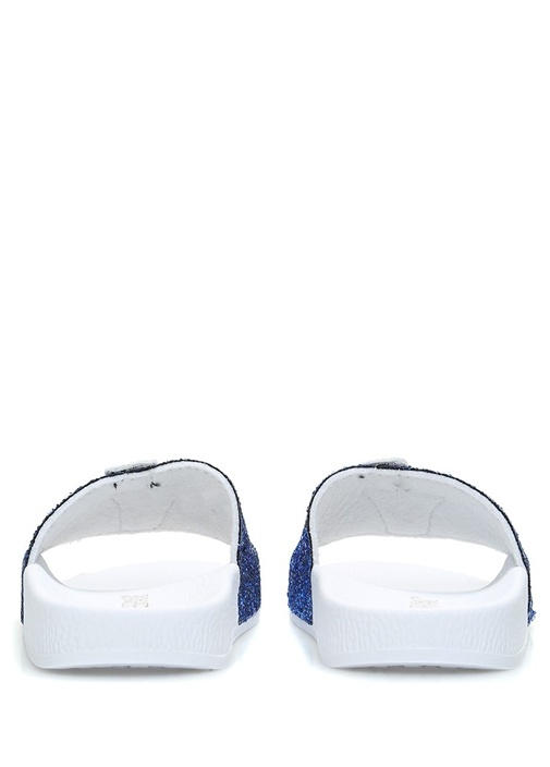 Glitter Mavi Beyaz Patchli Unisex ÇocukTerlik