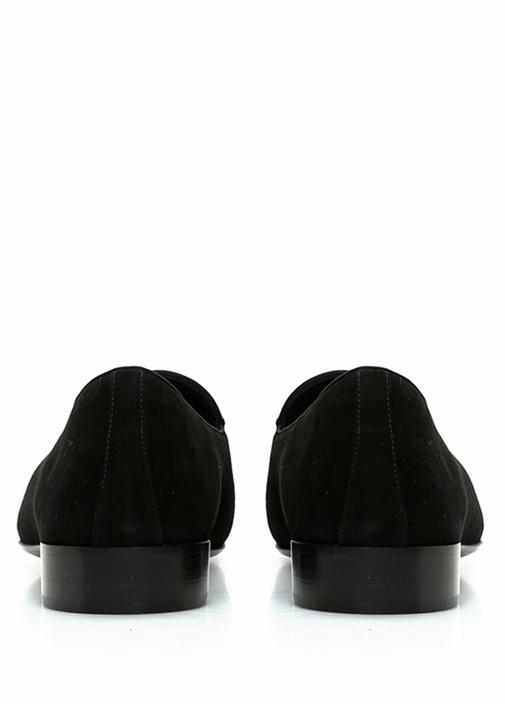G-Flash Siyah Logolu Erkek Süet Loafer
