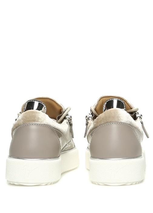 Nicki Vizon Çift Fermuarlı Kadın Sneaker