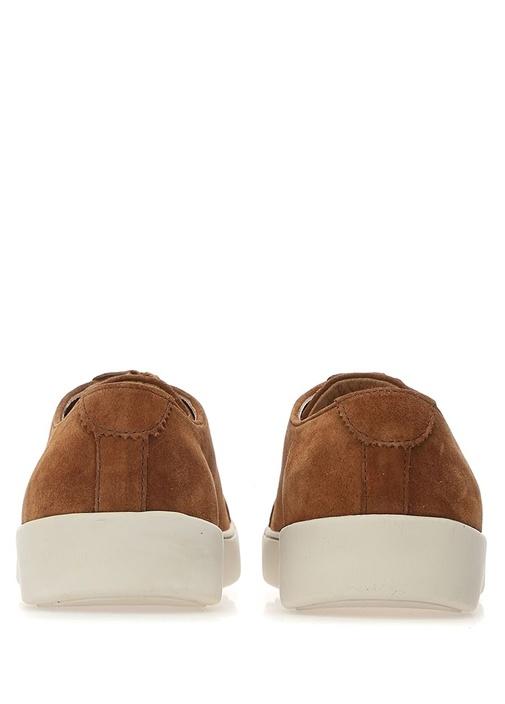 Taba Bağcıklı Erkek Süet Sneaker