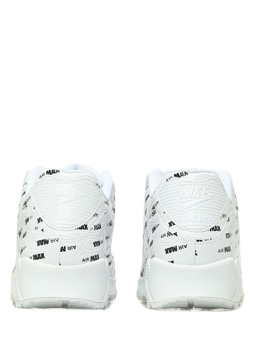 Air Max 90 Premium Beyaz Logolu Erkek Sneaker