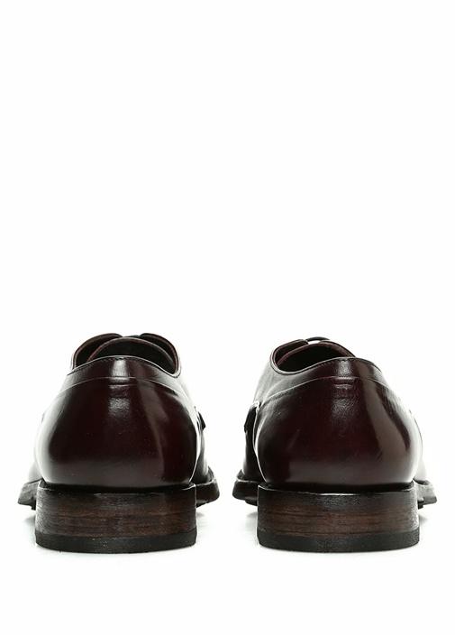 Bordo Bağcıklı Erkek Deri Ayakkabı