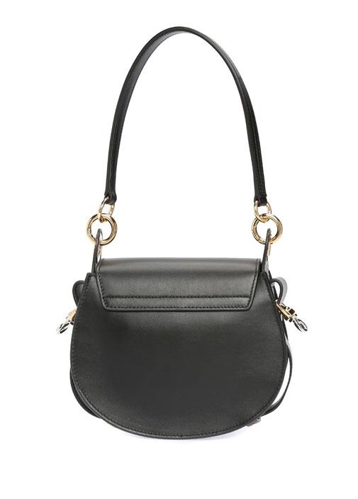 Small Tess Siyah Kadın Deri Çanta
