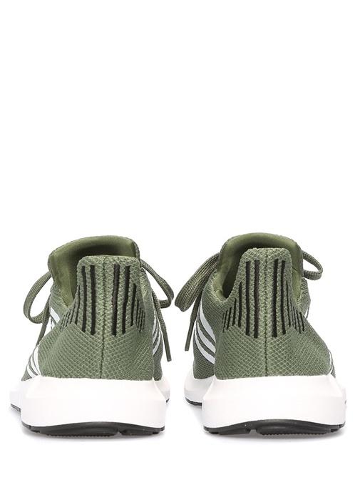 Swift Haki Logolu Kadın Sneaker