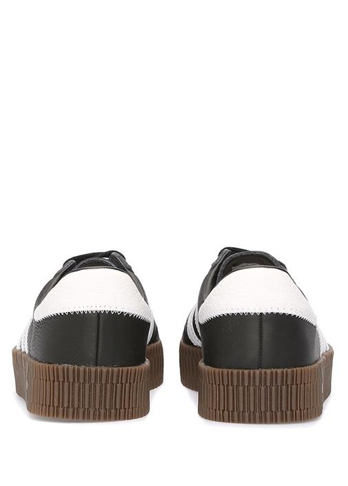 Sambarose Siyah Beyaz Kadın Sneaker
