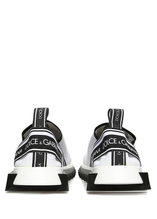 Sorrento Siyah Beyaz File Dokulu Kadın Sneaker