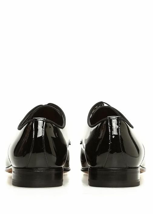 Siyah Bağcıklı Erkek Deri Ayakkabı