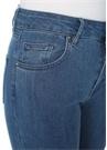 Yüksek Bel Skinny Jean Pantolon