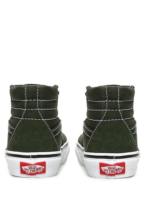 Sk8 Hi Haki Dekoratif Dikişli Unisex Çocuk Sneaker