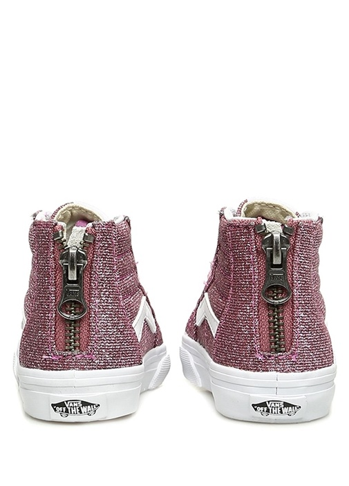 Sk8 Hi Pembe Simli Unisex Çocuk Sneaker