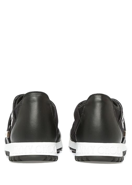 Toronto Siyah Logo Şeritli Kadın Sneaker