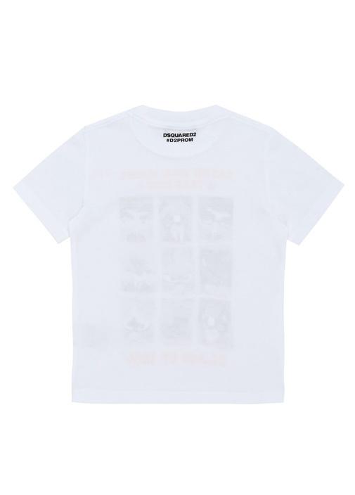 Yearbook Beyaz Baskılı Erkek Çocuk T-shirt