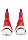 Kırmızı Çorap Formlu Logolu Kadın Sneaker