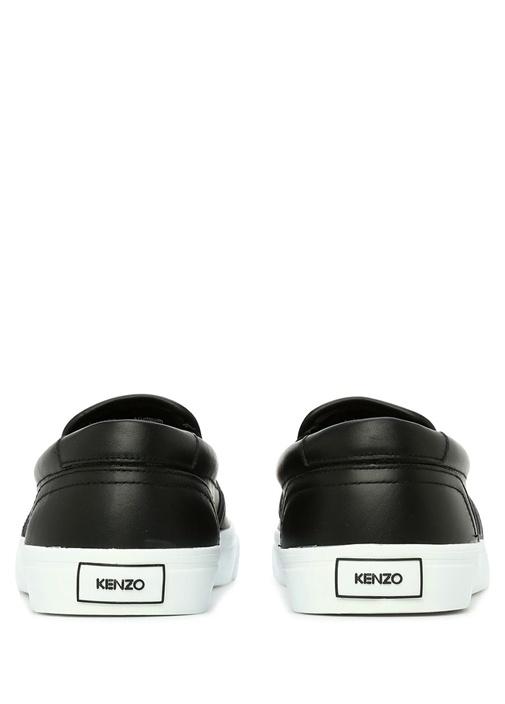 Siyah Logo Patchli Erkek Sneaker